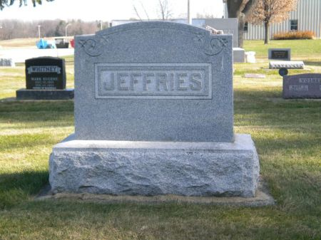 JEFFRIES, GEORGE E. (LARGE STONE) - Mitchell County, Iowa | GEORGE E. (LARGE STONE) JEFFRIES