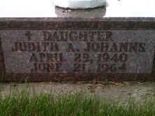 JOHANNS, JUDITH A. - Mitchell County, Iowa   JUDITH A. JOHANNS