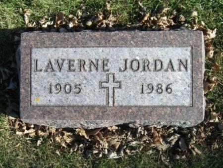 JORDAN, LAVERNE - Mitchell County, Iowa   LAVERNE JORDAN