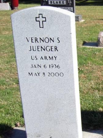 JUENGER, VERNON S. - Mitchell County, Iowa | VERNON S. JUENGER