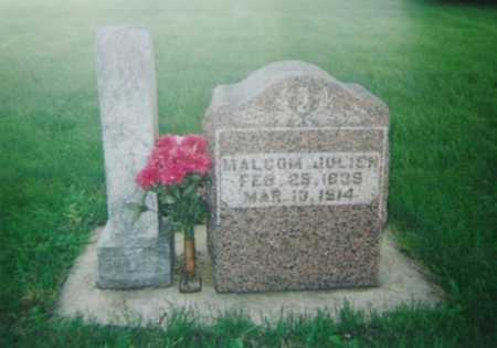 JULIEN, MALCOM - Mitchell County, Iowa | MALCOM JULIEN