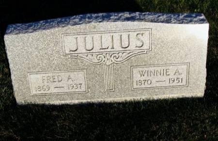 JULIUS, WINNIE A. - Mitchell County, Iowa | WINNIE A. JULIUS