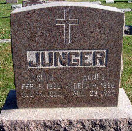 JUNGER, JOSEPH - Mitchell County, Iowa   JOSEPH JUNGER