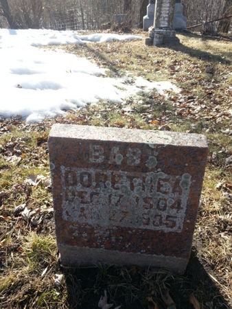 KAPKA, DORETHEA (BABY) - Mitchell County, Iowa | DORETHEA (BABY) KAPKA
