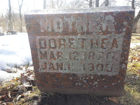 KAPKA, DORETHEA (MOTHER) - Mitchell County, Iowa | DORETHEA (MOTHER) KAPKA