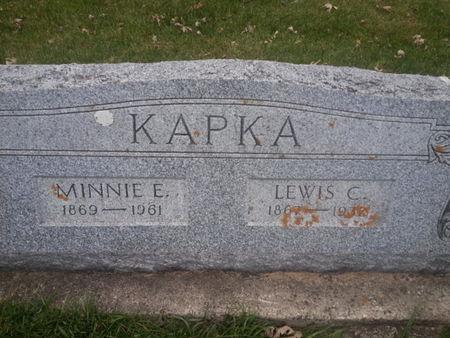 KAPKA, LEWIS C. - Mitchell County, Iowa | LEWIS C. KAPKA