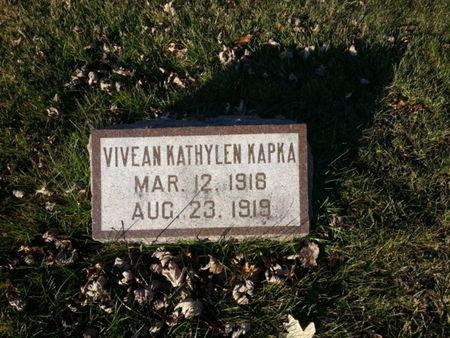 KAPKA, VIVEAN KATHYLEN - Mitchell County, Iowa   VIVEAN KATHYLEN KAPKA