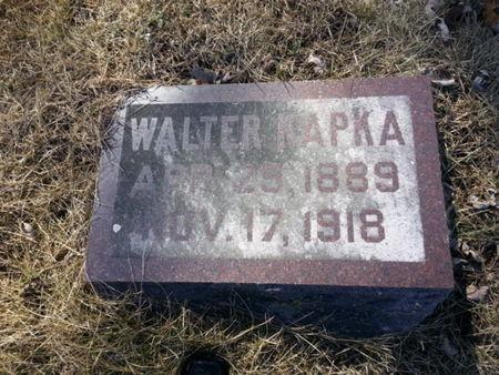 KAPKA, WALTER - Mitchell County, Iowa | WALTER KAPKA