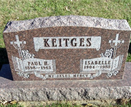 KEITGES, PAUL H. - Mitchell County, Iowa   PAUL H. KEITGES