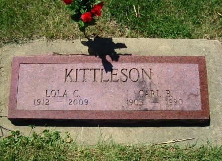 KITTLESON, CARL B. - Mitchell County, Iowa   CARL B. KITTLESON
