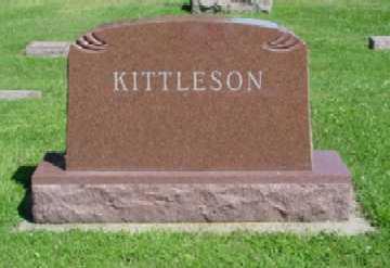 KITTLESON, CHARLES E. (FAMILY STONE) - Mitchell County, Iowa | CHARLES E. (FAMILY STONE) KITTLESON