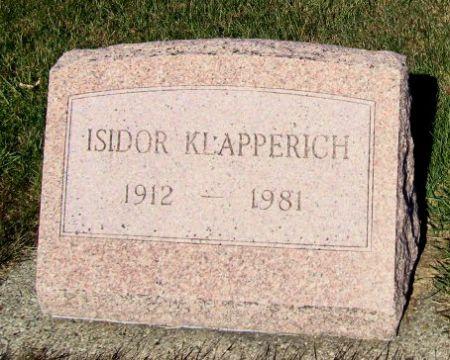 KLAPPERICH, ISIDOR - Mitchell County, Iowa | ISIDOR KLAPPERICH
