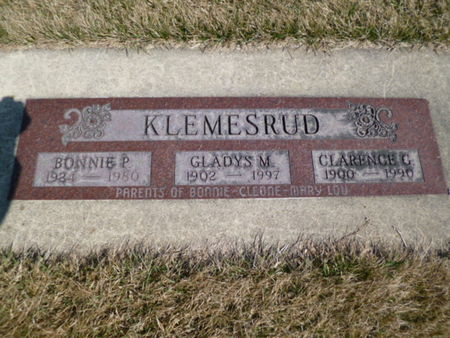 KLEMESRUD, CLARENCE - Mitchell County, Iowa | CLARENCE KLEMESRUD