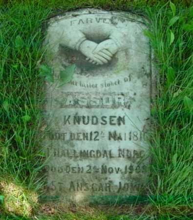 KNUDSEN, ASSOR - Mitchell County, Iowa | ASSOR KNUDSEN