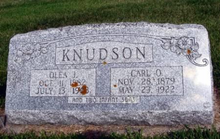KNUDSON, OLEA J. - Mitchell County, Iowa   OLEA J. KNUDSON