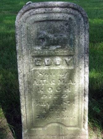 KOCH, EDDY - Mitchell County, Iowa | EDDY KOCH
