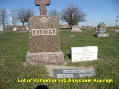 KOENIGS, ALOYSIOUS (LOT) - Mitchell County, Iowa | ALOYSIOUS (LOT) KOENIGS