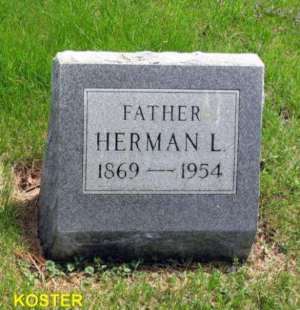 KOSTER, HERMAN L. - Mitchell County, Iowa | HERMAN L. KOSTER