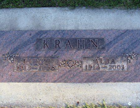 KRAHN, ELROY - Mitchell County, Iowa   ELROY KRAHN