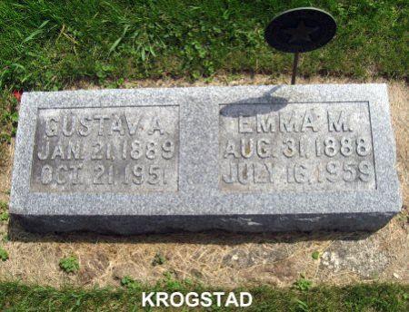 KROGSTAD, EMMA M. - Mitchell County, Iowa | EMMA M. KROGSTAD