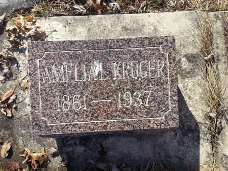 KRUGER, AMELIA L. - Mitchell County, Iowa | AMELIA L. KRUGER