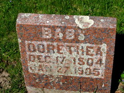 KRUGER, DORETHEA JOHANNA - Mitchell County, Iowa | DORETHEA JOHANNA KRUGER