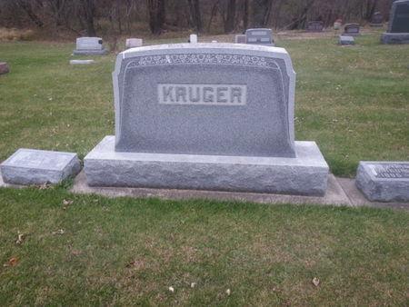 KRUGER, FRIEDRICH (FAMILYSTONE) - Mitchell County, Iowa   FRIEDRICH (FAMILYSTONE) KRUGER