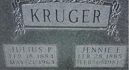 KRUGER, JULIUS P. - Mitchell County, Iowa   JULIUS P. KRUGER