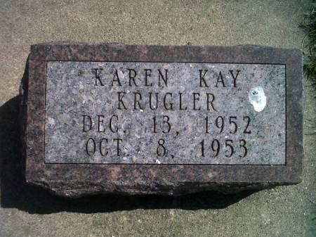KRUGLER, KAREN KAY - Mitchell County, Iowa | KAREN KAY KRUGLER