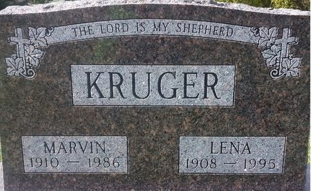 KRUGER, MARVIN - Mitchell County, Iowa   MARVIN KRUGER