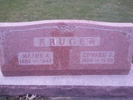 KRUGER, MAYME A. - Mitchell County, Iowa   MAYME A. KRUGER