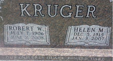 KRUGER, ROBERT W. - Mitchell County, Iowa | ROBERT W. KRUGER