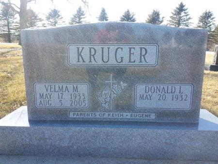 KRUGER, VELMA M. - Mitchell County, Iowa   VELMA M. KRUGER