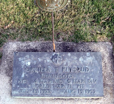 KULSRUD, ORVILLE THELMER - Mitchell County, Iowa   ORVILLE THELMER KULSRUD