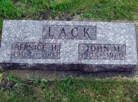 LACK, JOHN M. - Mitchell County, Iowa | JOHN M. LACK