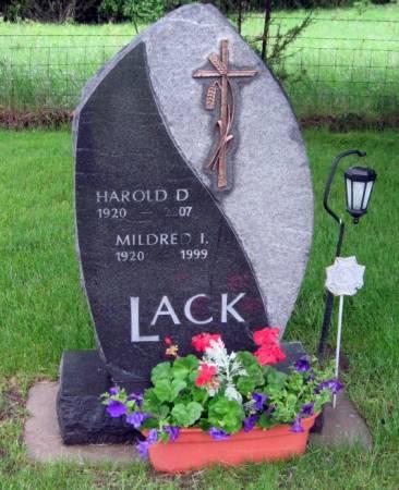 LACK, MILDRED I. - Mitchell County, Iowa | MILDRED I. LACK
