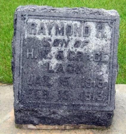 LACK, RAYMOND H. - Mitchell County, Iowa   RAYMOND H. LACK