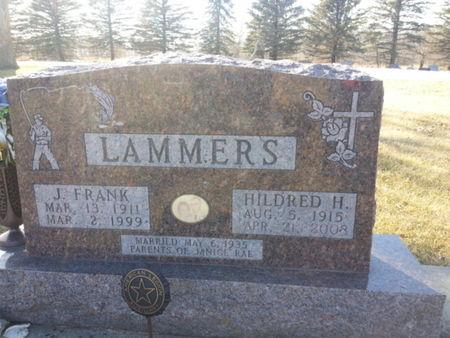 LAMMERS, J. FRANK - Mitchell County, Iowa   J. FRANK LAMMERS