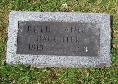LANGE, BETH - Mitchell County, Iowa | BETH LANGE