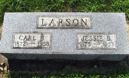LARSON, JESSIE B. - Mitchell County, Iowa   JESSIE B. LARSON