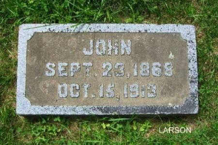 LARSON, JOHN - Mitchell County, Iowa | JOHN LARSON
