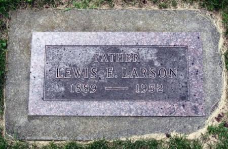 LARSON, LEWIS E. - Mitchell County, Iowa | LEWIS E. LARSON