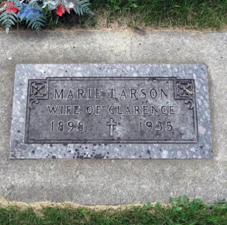 LARSON, MARIE - Mitchell County, Iowa   MARIE LARSON