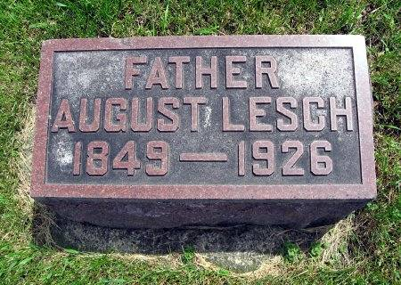LESCH, AUGUST - Mitchell County, Iowa   AUGUST LESCH