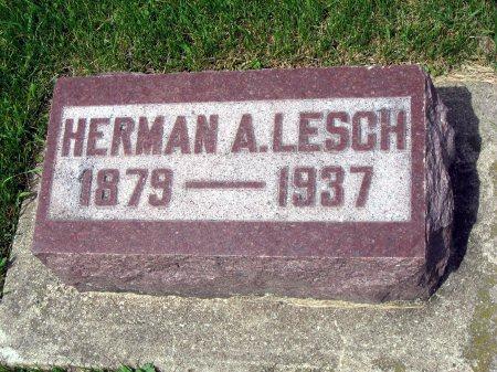 LESCH, HERMAN A. - Mitchell County, Iowa   HERMAN A. LESCH