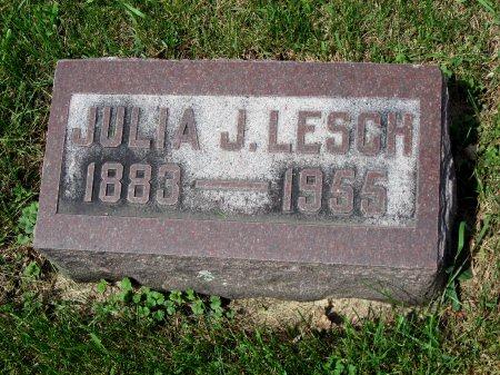 LESCH, JULIA J. - Mitchell County, Iowa   JULIA J. LESCH