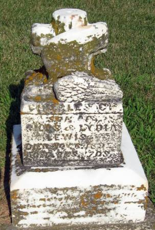 LEWIS, CHARLES C. - Mitchell County, Iowa   CHARLES C. LEWIS