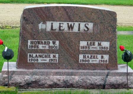 LEWIS, LEE M. - Mitchell County, Iowa | LEE M. LEWIS