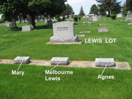 LEWIS, AGNES (LOT) - Mitchell County, Iowa | AGNES (LOT) LEWIS