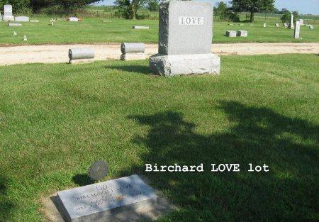 LOVE, BIRCHARD (LOT) - Mitchell County, Iowa   BIRCHARD (LOT) LOVE